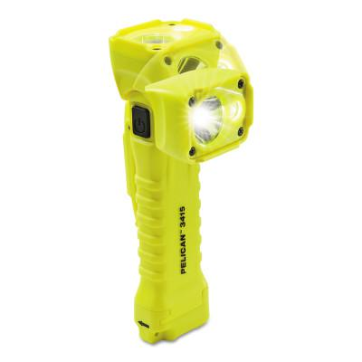 PELICAN 3415 LED, 3 Batteries, AA, 336 lm, Yellow