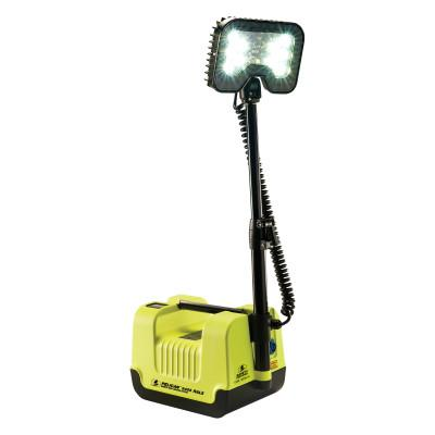 PELICAN Remote Area Lighting System, 21W, 1,600 lm, Black/Green, 12.6 in Cord