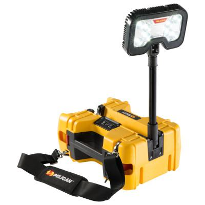 PELICAN Remote Area Lighting System, 44W, 4,000 lm, Black/Yellow