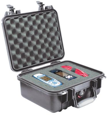 PELICAN Small Protector Cases, 1400 Case, 8.87 in x 5.18 in x 11.81 in, Black