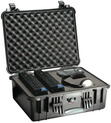 PELICAN Large Protector Cases, 1550 Case, 14 in x 7.62 in x 18.43 in, Black