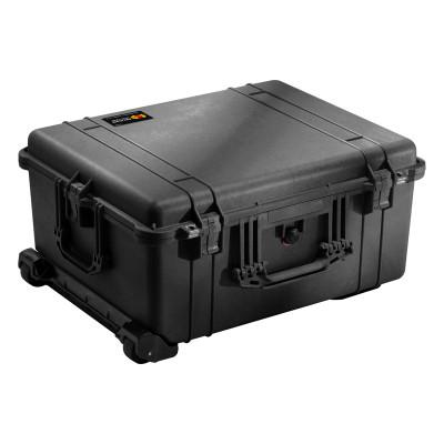 PELICAN Large Protector Cases, 1610 Case, No Foam, 16.69 in x 10.62 in x 21.78 in, Black
