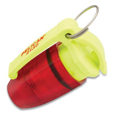 PELICAN Mini Flasher Specialty Lights, 2 Batteries, L1154 1.2V, 4.7 lm Red/Yellow