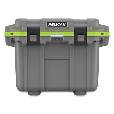 PELICAN ProGear® Elite Coolers, 32.95 qt, 19w x 25.3l x 18.5h, Gray