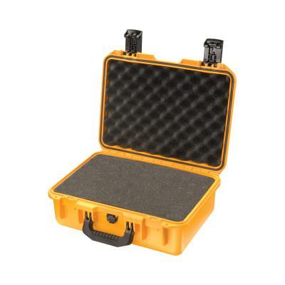 PELICAN iM2200 Storm Cases, 0.55cu ft, 15 in x 10.5 in x 6 in, Yellow