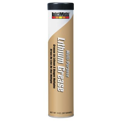 PLEWS LubriMatic Multi-Purpose Lithium Greases, 14 oz, Cartridge