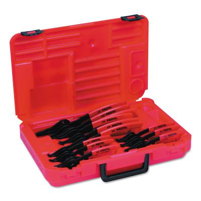 PROTO Convertible Retaining Ring Pliers Sets, 45°; 90°; Straight Tip