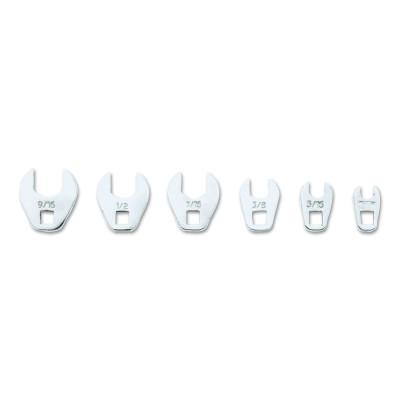 PROTO Six-Piece Crowfoot Wrench Sets, Inch, 1/4 in Drive