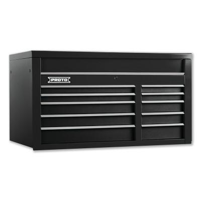 PROTO 550S Top Chest, 50 in, 10-Drawer, Dual Black