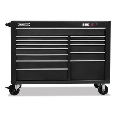 PROTO 550S Series, Workstation, 57 in, 13-Drawer, Dual Black
