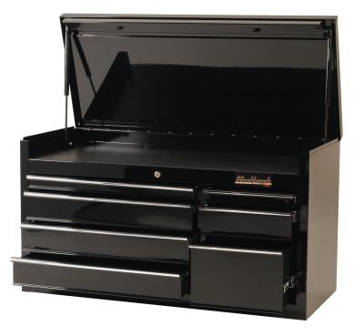 BLACKHAWK 7 Drawer Top Chests, 41 in x 18 in x 23 in, Black