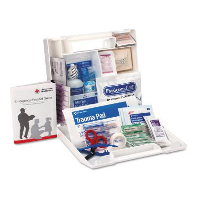 FIRST AID ONLY 25 Person First Aid Kits, Contractors/Fleet Vehicles/Worksites, Plastic