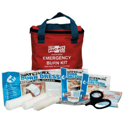 FIRST AID ONLY Water Jel Soft Pouch Burn Kit, 15 Pieces, 8 x 7 x 3