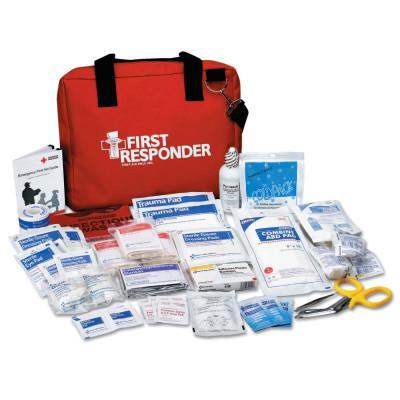 FIRST AID ONLY First Responder Kits, 100 Denier Cordura Bag, 120 Piece, Portable