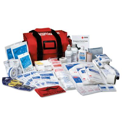 FIRST AID ONLY First Responder Kits, 100 Denier Cordura Bag, 150 Piece, Portable