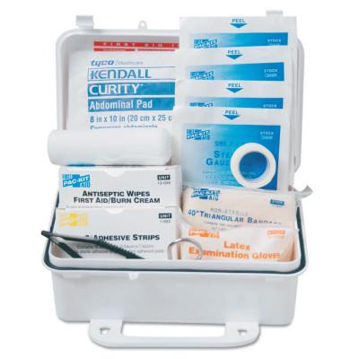 FIRST AID ONLY 10 Person ANSI First Aid Kits, Weatherproof Plastic
