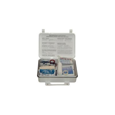 FIRST AID ONLY 25-Person Weatherproof ANSI First Aid Kits, Weatherproof Plastic, Wall Mount