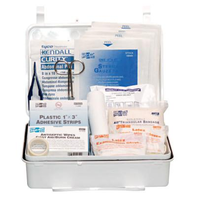 FIRST AID ONLY 25 Person Industrial First Aid Kits, Weatherproof Plastic, Wall Mount
