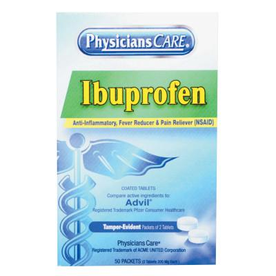 FIRST AID ONLY PhysiciansCare Ibuprofen Tablets