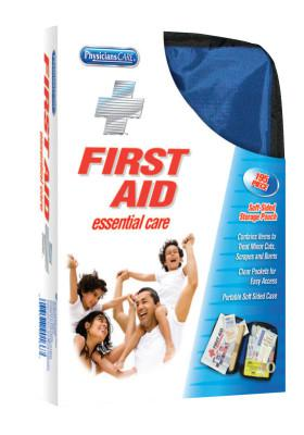 FIRST AID ONLY Soft-Sided First Aid Kits, 195 Piece, Fabric