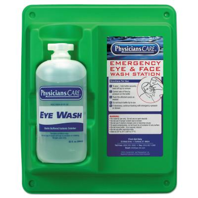 FIRST AID ONLY Wall Mountable Eyewash Stations, Single 32 oz. Bottle, 6 per case