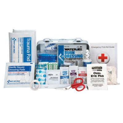 FIRST AID ONLY ANSI A Type III Weatherproof Bulk First Aid Metal Kits, 10 Person, Wall Mount