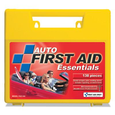 FIRST AID ONLY Auto First Aid Kits, Plastic, Portable