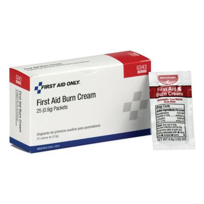 FIRST AID ONLY 24 Unit ANSI Class A+ Refill, Burn Cream, BX/25