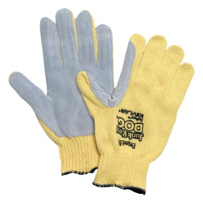HONEYWELL Perfect Fit Aramid Gloves, Men's, Yellow