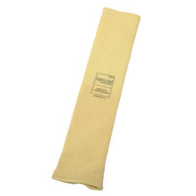 "HONEYWELL Heat and Cut Resistant Sleeves w/ Thaumbhole, 14"" Long, Elastic Closure, Yellow"