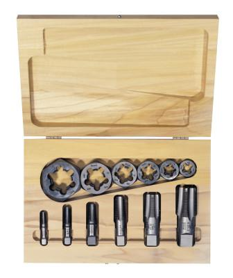 IRWIN HANSON 12-pc Hexagon Re-threading Die Sets (HCS) & (HSS)