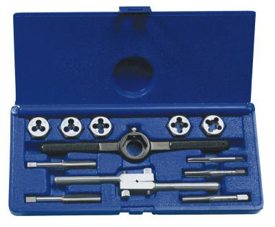 IRWIN HANSON 12-pc Fractional Tap & Hex Die Set