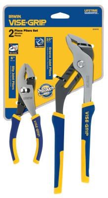 IRWIN VISE-GRIP 2-pc ProPlier Sets - Slip Joint / Groove Joint, 6 in