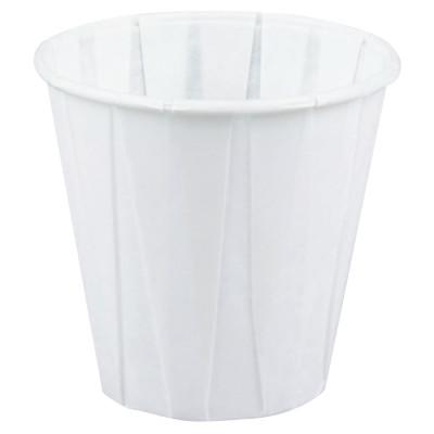 GENPAK Paper Drinking Cups, 3 1/2 oz, White