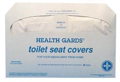 HOSPECO (PACK/250) TOILET SEAT COVERS