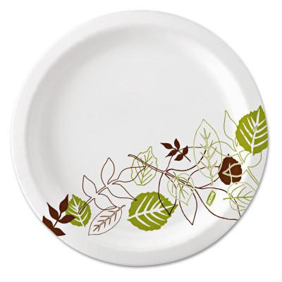 DIXIE GP PRO Heavy-Weight Paper Plates, 2 Compartments