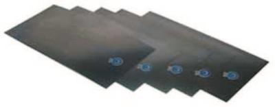 "PRECISION BRAND Shim Stock Flat Sheet Assortments, 6 x 12"", .001-.015"" Thick, Steel, 12/Pk"