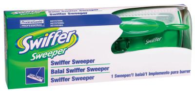 PROCTER & GAMBLE Swiffer® Sweepers, 10 in, Green/White