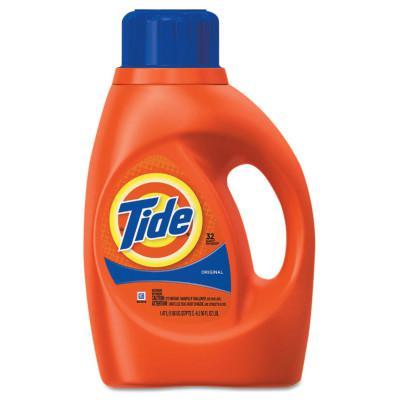 PROCTER & GAMBLE Ultra Liquid Tide Laundry Detergents, 50 oz Bottle