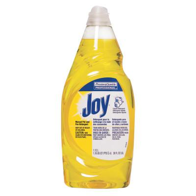 PROCTER & GAMBLE Joy Dishwashing Liquid, Lemon Scent, 38 oz Bottle
