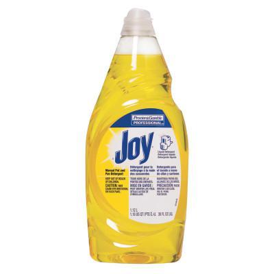 PROCTER & GAMBLE Joy Dishwashing Liquid, Lemon Scent, 38 oz Bottle