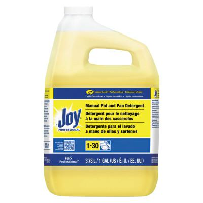 PROCTER & GAMBLE Joy Dishwashing Liquid, Lemon Scent, 1 Gallon Jug