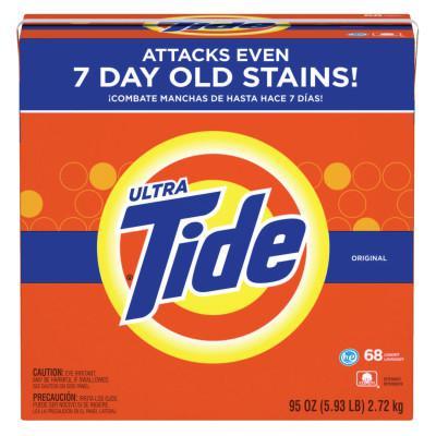PROCTER & GAMBLE Tide Laundry Detergents, 95 oz Box