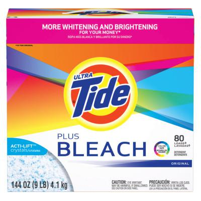 PROCTER & GAMBLE Tide Laundry Detergents with Bleach, 144 oz Box