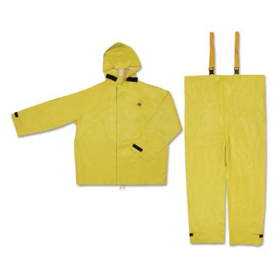 RIVER CITY Hydroblast Suit Jackets with Attached Hoods and Bib Pants, 0.35 mm, Large