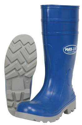 RIVER CITY MAX-Lite Boots, Size 10, 16 in H, Polyurethane, Blue/Gray