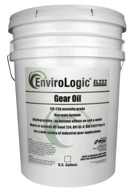 ENVIROLOGIC Envirologic Hydraulic Gear Oils, 235 °C Flash Pt, 5 gal, Bucket