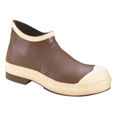 SERVUS Dipped Neoprene Boots, 8 Size, 16 in Height, Neoprene, Steel, Brown