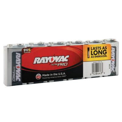 RAYOVAC Maximum Alkaline Shrink Pack Batteries, 9 V