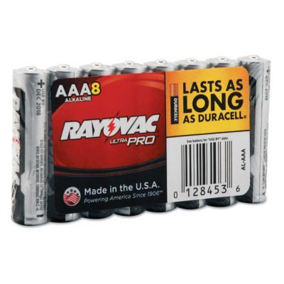 RAYOVAC Maximum Alkaline Shrink Pack Batteries, 1.5 V, AAA